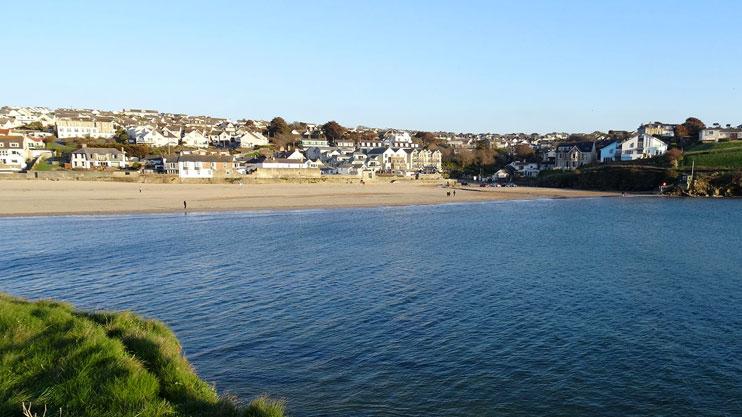 Porth beach Newquay Cornwall
