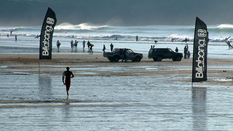 Surf competitions Fistral beach Newquay Cornwall